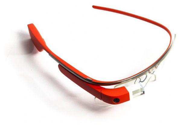 Google智能眼镜拆解原型图