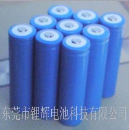 锂辉电池公司生产的18650 1100mAh 电动自行车磷酸铁锂电池 25C放电